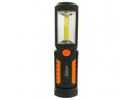 LED svietidlo 2W + 3xLED s nabíjacím Li-ion akumulátorom 800mAh, VERKE PREMIUM LINE V87510