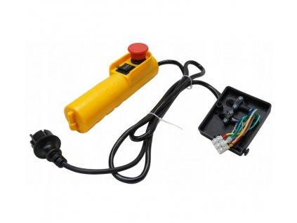 Ovládač s káblom do elektrického navijaku 300 / 600kg, VERKE V06081
