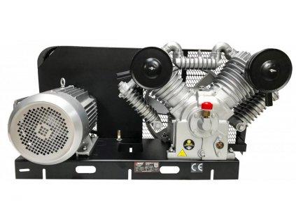 Vzduchový kompresor 4 piesty, 12,5 bar, 7,5kW, VERKE V81149