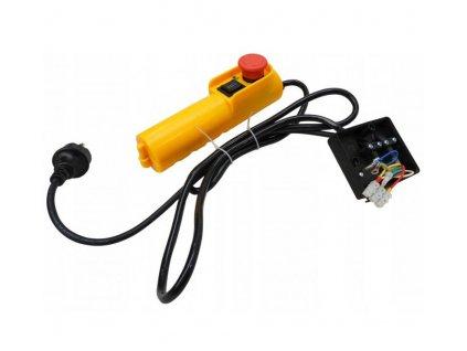 Ovládač s káblom do elektrického navijaku 125 / 250kg, VERKE V06080