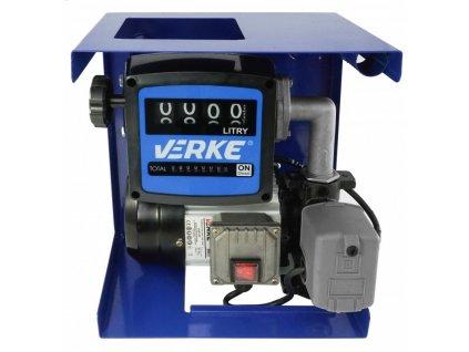 Čerpacia stanica na naftu a olej komplet sada s prietokomerom samonasávacia 230V 550W