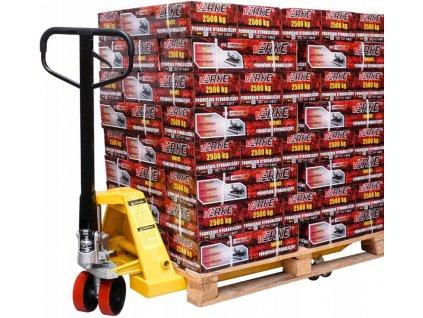 Ručný paletový vozík 2500kg