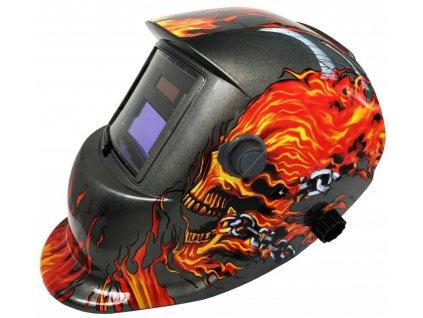 Zváračská kukla samostmievacia Burning Skull