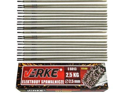 Rutilové elektródy 2,5mm 2,5kg