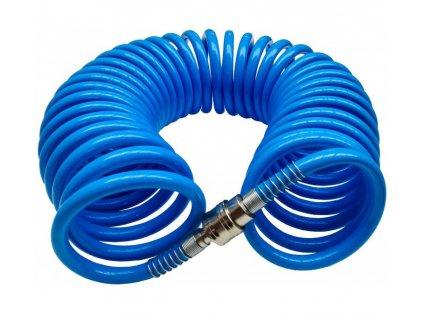 Špirálová hadica vzduchová PU 15m 6,5mm x 10mm