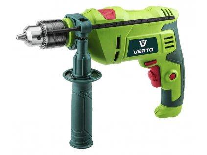 Impact drill 600W, key chuck 13 mm, BMC + accessories VERTO  50G519