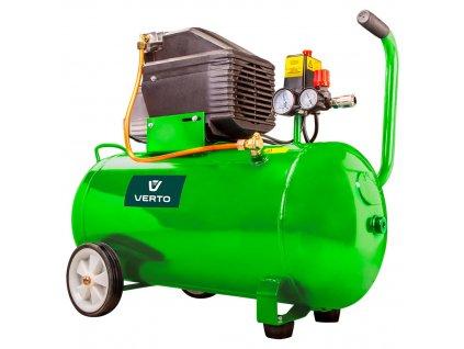Olejový kompresor 50l, 230V VERTO  73K004