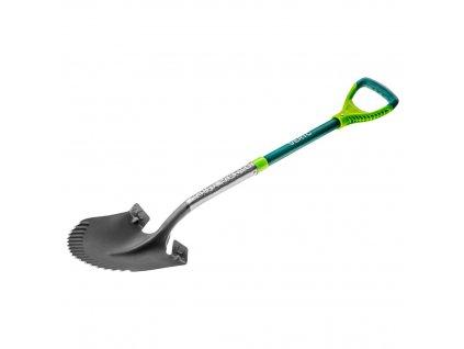 Lopata s ostrým kovovým držadlom VERTO  15G003