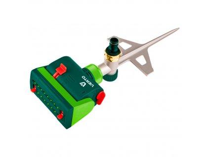 Oscilačný postrekovač s viacsmerným rozsahom regulácie. VERTO  15G773