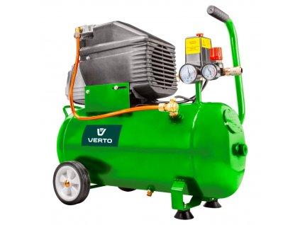 Olejový kompresor 24l, 230V VERTO  73K002