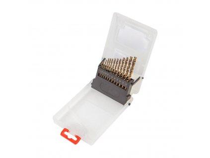 Sada vrtákov HSS-G, 1,5 - 6,5 mm, 13 ks. VERTO  60H810
