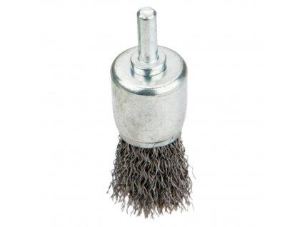 Drôtená kefka s stopkou, 24 mm VERTO  62H341