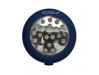 Baterka 24 LED okrúhla s magnetom - L1000
