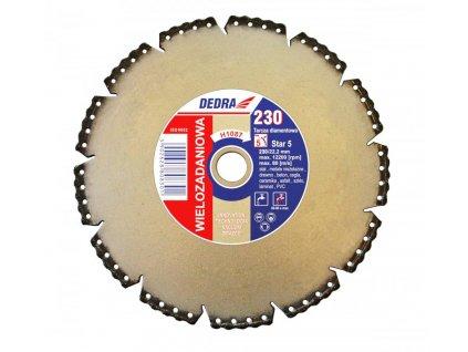 Diamantový kotúč VACUUM BRAZE na rezanie ocele, neželezných kovov, dreva, betónu, tehly, keramiky, asfaltu, laminátu, PVC