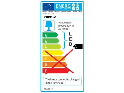 Nástenná lampa SMB LED 20W