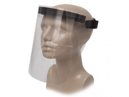 Ochranný štít tváre hrúbka
