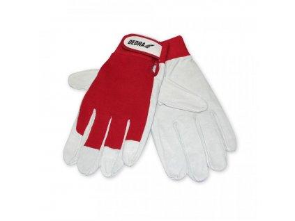 Ochranné rukavice, kat. II červené