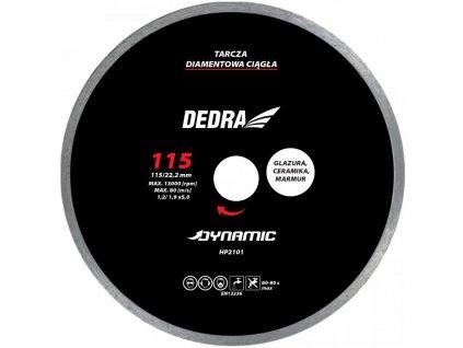 Kotúč diamantový Dynamic 115x22,2mm DEDRA - HP2101