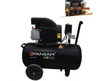 Olejový kompresor 50l 1500W, 8bar ,200l/min DEDRA - A077030