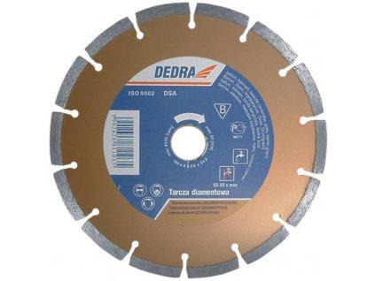 Kotúč diamantový segmentový 125x22,2mm DEDRA