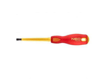 Krížový skrutkovač 1000V, SL/PZ2 x 100mm | NEO 04-222