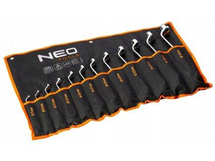 Očkové kľúče ohnuté 6-32 mm, súprava 12 ks   NEO 09-952