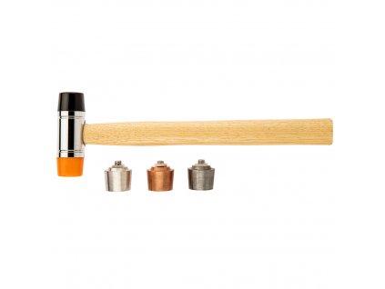 Kladivo s vymeniteľnými hrotmi 250 g/28 mm