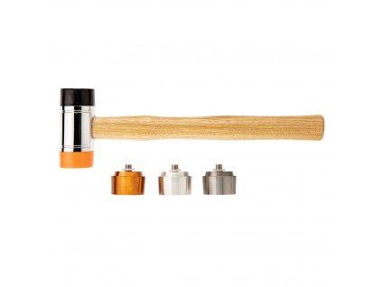 Kladivo s vymeniteľnými hrotmi 660 g/45 mm | NEO 11-636