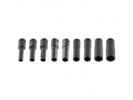 """Sada nástrčných kľúčov 1/2"""", E10-E24 mm, Torx, 10 diel"""