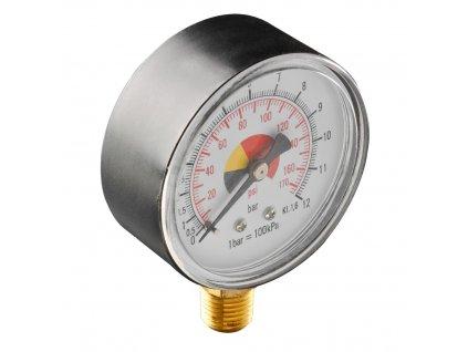 Manometer pre stlačený vzduch o 63 mm