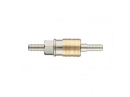 Rýchlospoj do kompresora skoncovkou na hadicu 6 mm   NEO 12-630