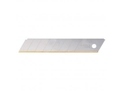 Lámacie nože od orezávača, 18 mm, 10 ks