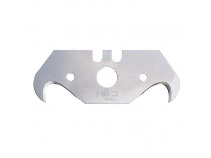Náhradný nôž tvar hák, 5 ks