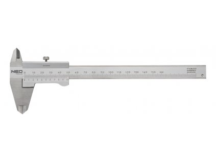 Posuvné meradlo 150 mm, stainless steel | NEO 75-001