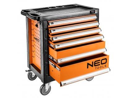 Vozík na náradie 6 zásuviek   NEO 84-223
