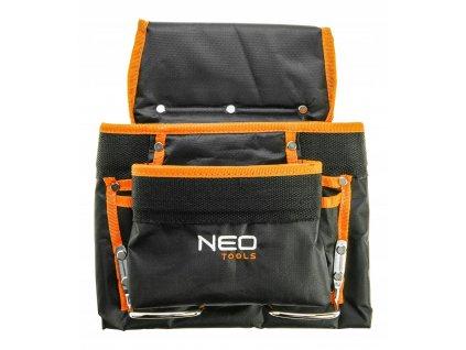 Vrecko na náradie, 8 priečok,s  kovovou rukoväťou | NEO 84-334