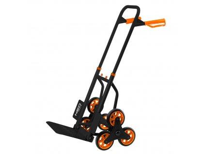 Prepravný vozík, schodišťový, skladací, nosnosť 150kg