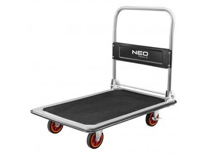 Prepravný vozík, plošinový, nosnosť 300kg | NEO 84-403
