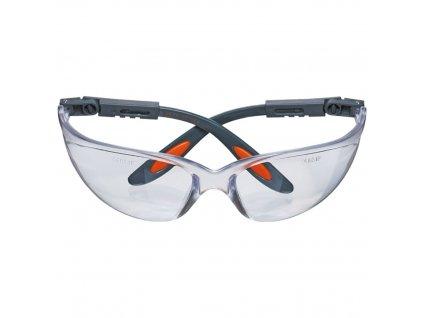 Ochranné okuliare , polykarbonátové , biele šošovky