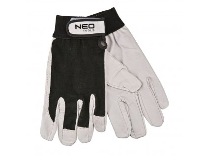Pracovné rukavice, koža | NEO 97-603