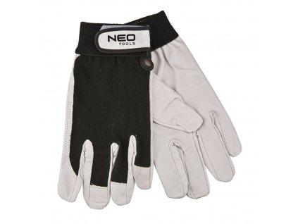 Pracovné rukavice, koža