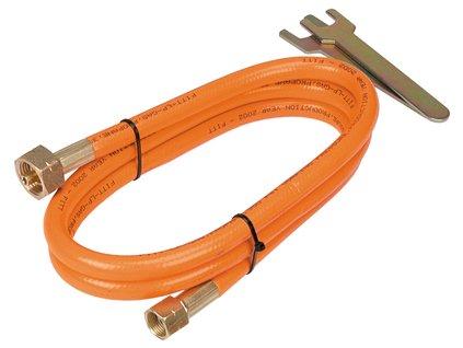 Prípojná hadica na plyn, 2 m   TOPEX 4.4E-153