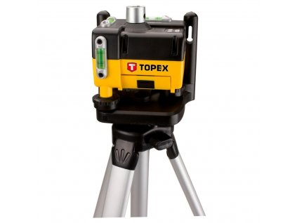 Laserová vodováha so statívom | TOPEX 29C908