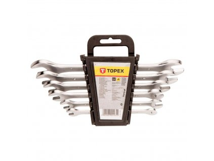 Kľúč vidlicový sada, 6 - 17 mm, 6 ks | TOPEX 35D655