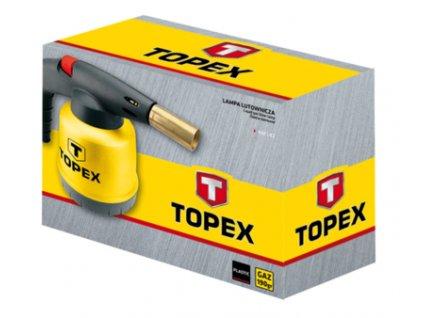 Pájkovačka plynová, 190 g | TOPEX 4.4E-143