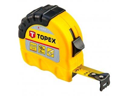 Meter rolovací, 10 m x 25 mm | TOPEX 27C310