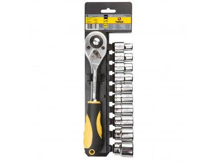 """Nástrčné kľúče 1/2"""", súprava 11 ks   TOPEX 38D652"""
