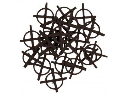 Krížik distančný-kruh, 5,0 mm, 100 ks