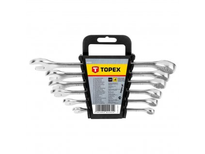 Kľúč vidlicový sada, 6 - 17 mm, 6 ks | TOPEX 35D755