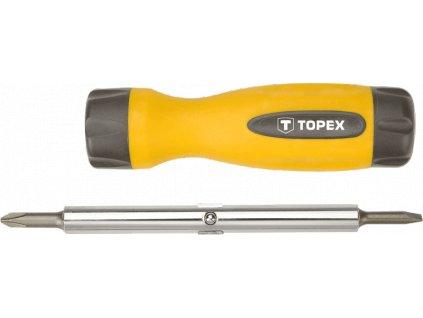 Otáčací skrutkovač sada, 4ks   TOPEX 39D516